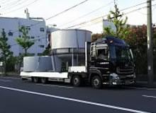 巾3500タンクの運搬