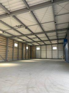 倉庫(普通倉庫230坪)完成しました。保管・管理・入出庫